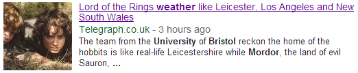 university bristol mordor climate   Google Search
